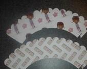 Band aid Cupcake Wrappers   Disney Doc McStuffins