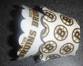 Bruins Cupcake Wrappers  Hockey Boston Bruins