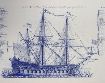 1728 British Sailing Ship of Way No.2