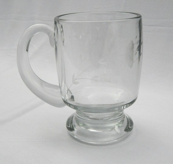 ... crystal also 370756626800 likewise Vintage Clear Glass Etched Crystal