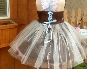 Steam Punk Apron for a adult