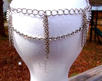 Silver Goddess Headpiece