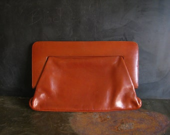 Vintage Lady Mary Made in Italy Leather Handbag