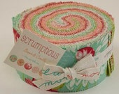 SCRUMPTIOUS Jelly Roll by Bonnie & Camille for Moda.