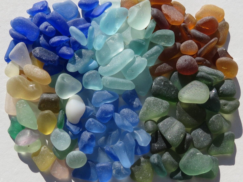 Bulk sea glass beach glass genuine craft quality seaglass for Craft mosaic tiles bulk