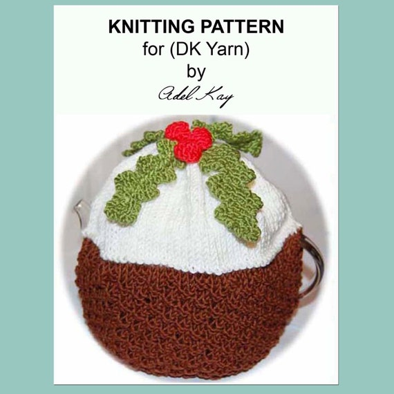 Knitting Pattern For A Christmas Pudding : Items similar to Knitting Pattern PDF Document Chocolate Christmas Pudding Te...