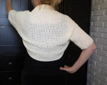 Crochet BOLERO /SHRUG PATTERN - Summer