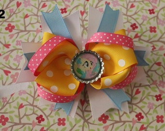 My little pony hair bow (fluttershy)