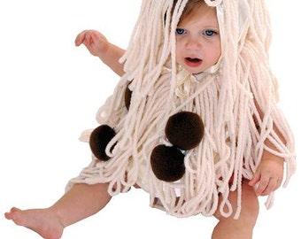 Spaghetti Toddler Costume