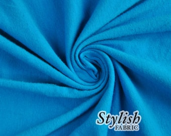 Royal Sum Cotton Lycra Jersey Knit Fabric Combed 7oz by the Yard Cotton Stretch Jersey Cotton Jersey Stretch by the yard - 1 Yard Style 477