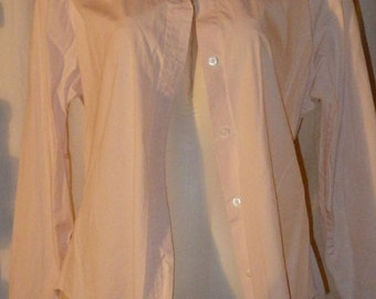 Gap XL light Pink long sleeved Shirt.  Stretch