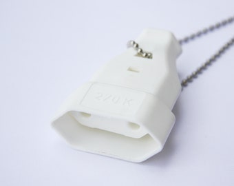 The Socket - Funky Shrunky Necklace