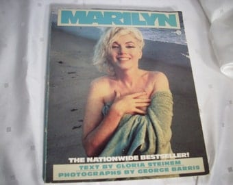 MARILYN MONROE Soft Covered Book Vintage Rare