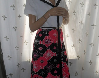 1970s classy maxi dress