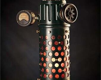 Ocularius Lantern: an Industrial themed Hanging Pendant Lamp