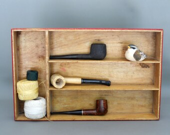 Vintage Wood Desk Tray