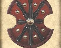 Troy Shield Art, Troy Trojan, Roman Soldiers, Ancient Greek, Gladiators, Medieval Weapons, Swords, Shields, Braveheart, Battle Shield, Troy