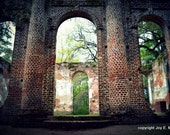 Mysterious Architecture from Old Sheldon Church Ruins, South Carolina #2