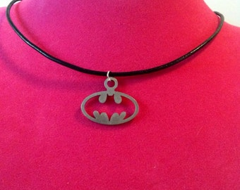 Stainless Steel Batman Necklace