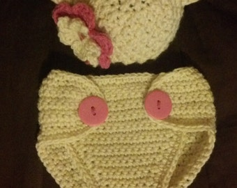 Baby Bear Costume and Photo Prop