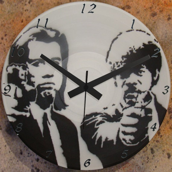 Items Similar To Pulp Fiction 1 Wall Clock Lp Record