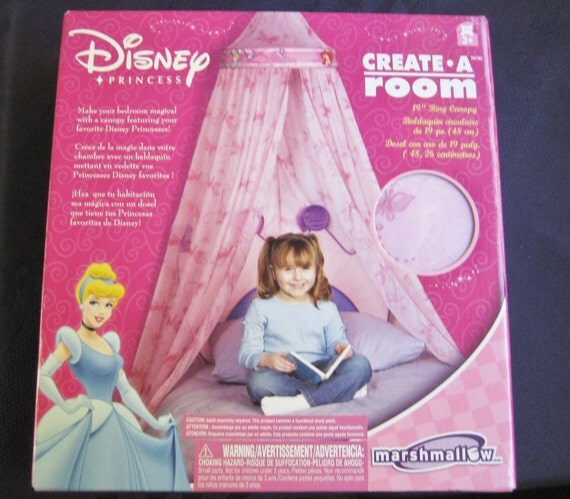 Disney Princess Twin Bed Canopy Little Mermaid By