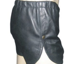 Leather Shorts Custom Made To Order SO203