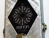 Xenon Phaser - 2 stage OTA vintage phasing with modern features! Handmade guitar pedal.