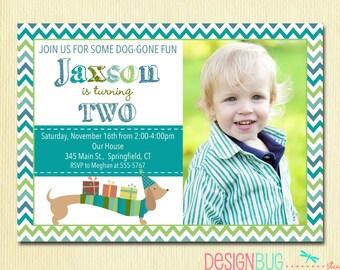First Birthday Baby Boy Invitation St Nd Rd Th Birthday - Birthday invitation wording for 5 year old boy