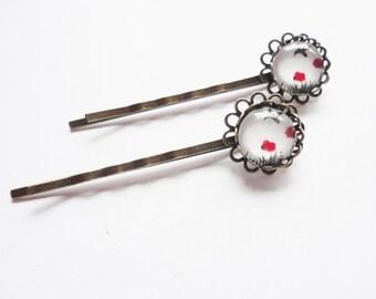 Bird hair clips