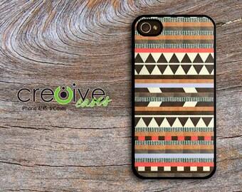 iphone 6, iPhone 4/4s or iPhone 5/5s case - AZTEC #4 plastic or rubber case, aztec phone case