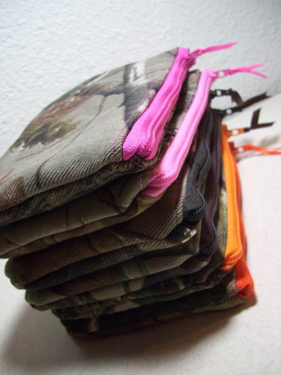 Camo Cosmetic Bag, Camo Makeup Bags, Purse Organizer