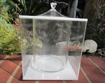 Mid Century Modern Lucite Ice Bucket Morgan Designs