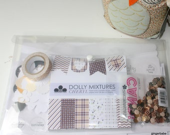 Card Making Kit - DIY kit to make 25 cards and more
