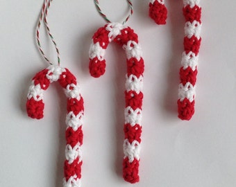Candy Cane - Candy Cane Ornament - Ornament - Christmas Ornament - Holiday Decor - Christmas Decor