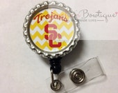 Usc - ID Badge Holder - ID Clip - ID Badge Reel