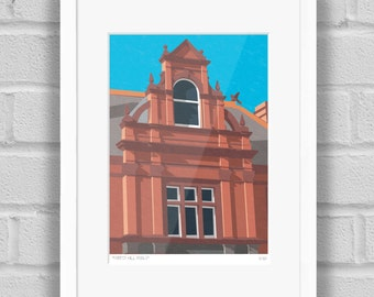 Forest Hill Swimming Pools, London - Limited Edition Giclée Art Print / Poster