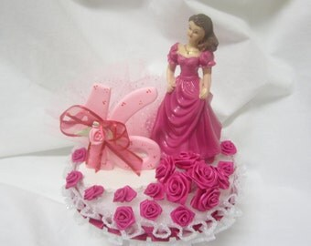 Sweet 16 Cake Topper or Centerpiece