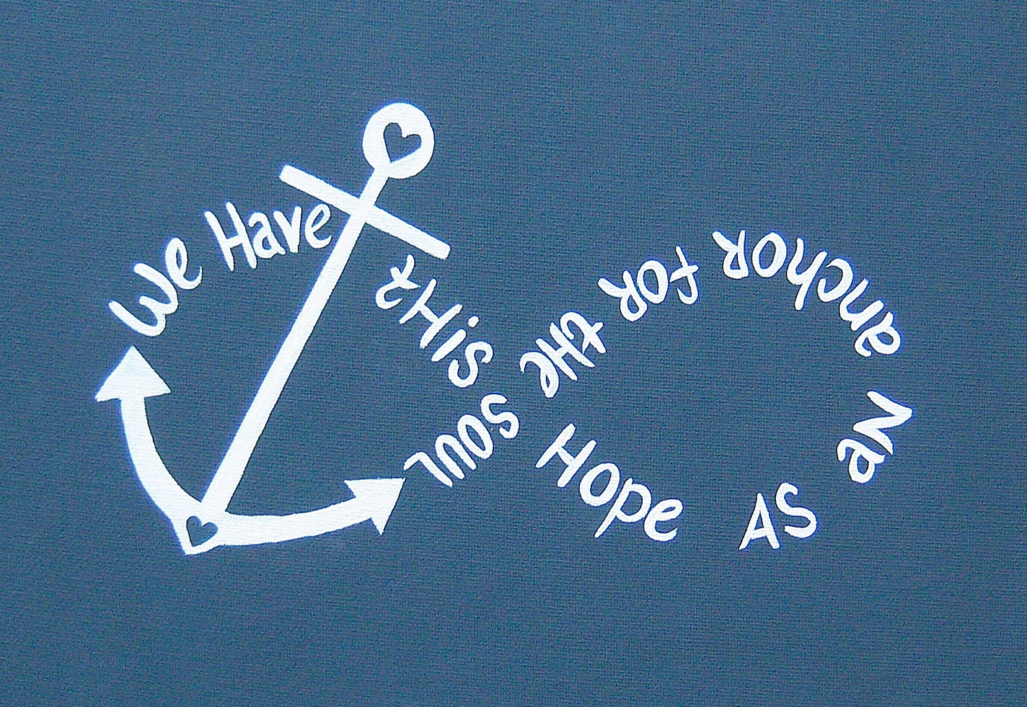 Cute Infinity Wallpaper: Canvas Painting Anchor Infinity We Have This Hope