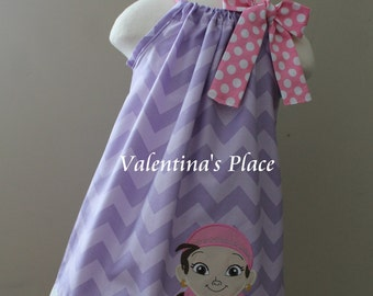 Super Adorable Izzy from Jake and the Neverland Pirates pillowcase dress