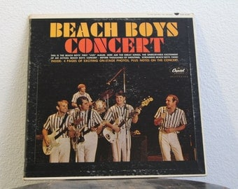 "The Beach Boys - ""Concert"" vinyl record"