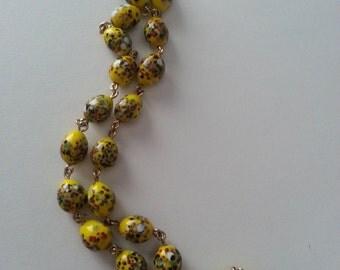 Re-purposed Vintage Necklace
