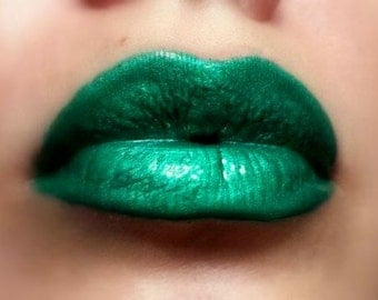 Esmeralda - Bright Green Liquid Lipstick/Lip gloss