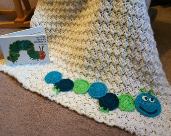 Caterpillar Baby Blanket