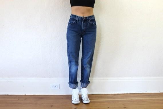 Waisted Boyfriend Jeans Size S/28