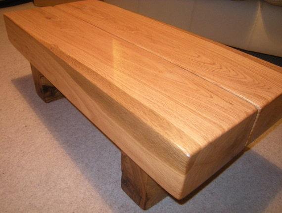Two beam coffee table for Coffee tables 80cm wide