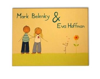 Door sign, Personalized door sign, ,Front Door SIGN,Couples door sign