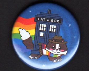 1.75 inch Fourth Nyan Doctor Button