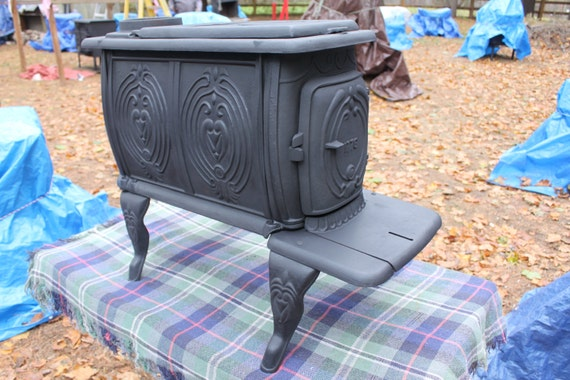 Antique Cast Iron Wood Stove WB Designs - Antique Cast Iron Wood Stove WB Designs