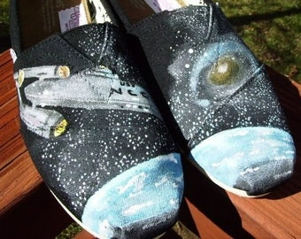 Space Exploration  Handpainted TOMS